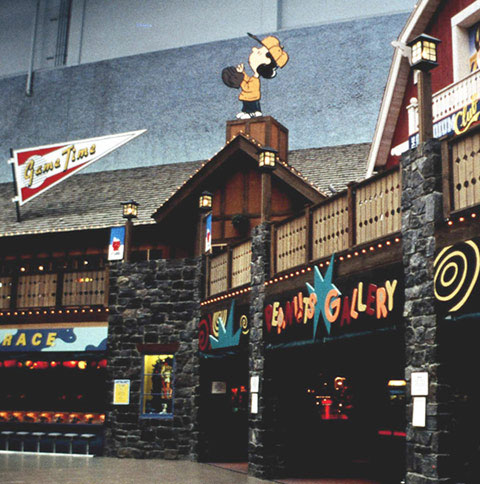 Camp Snoopy at the Mall of America