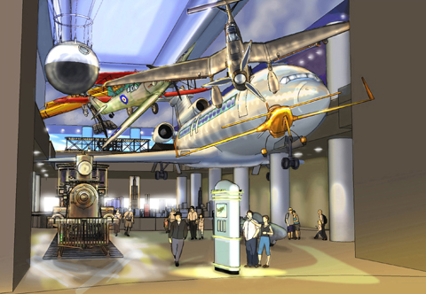 Museum of Science and Industry: Aviation